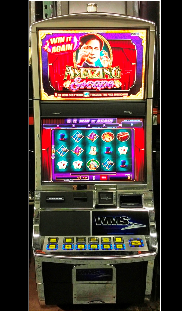 Amazing escape slot machine for sale