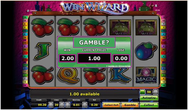 Gamble features