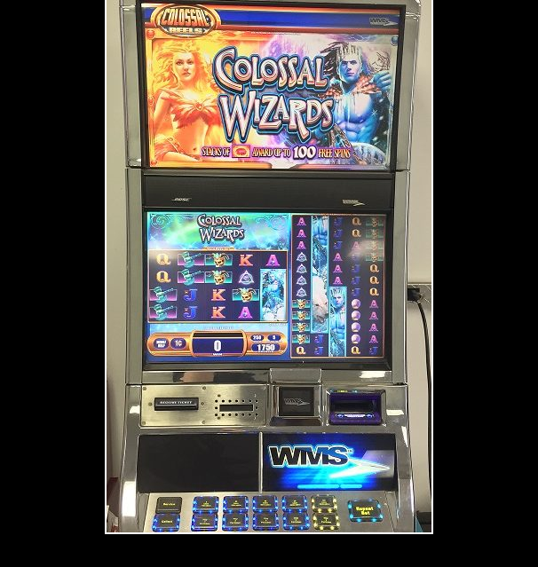 Collosal Wizard slot machine WMS for sale
