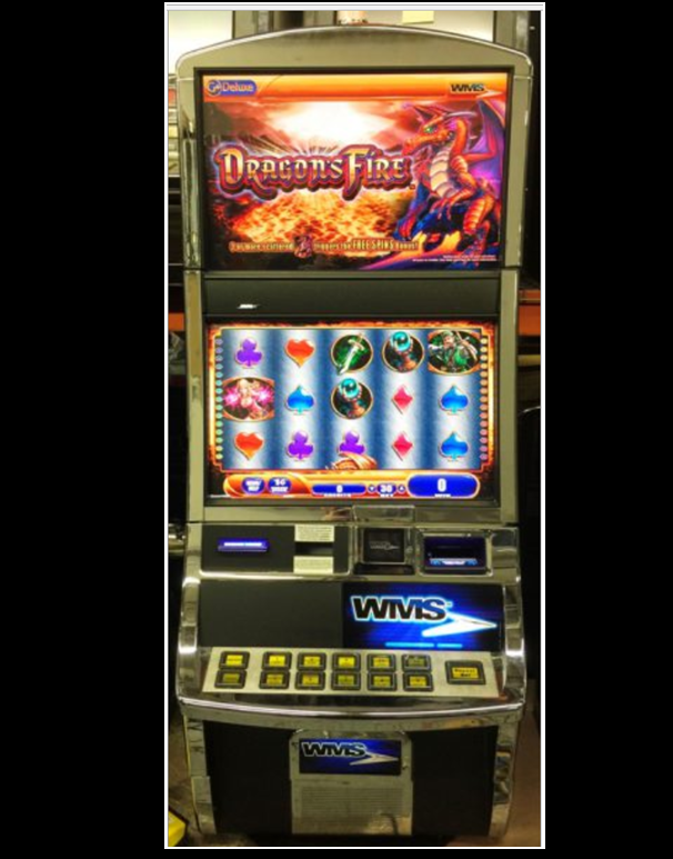 Dragons fire slot machine