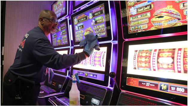 How to maintain your slot machines after you buy it
