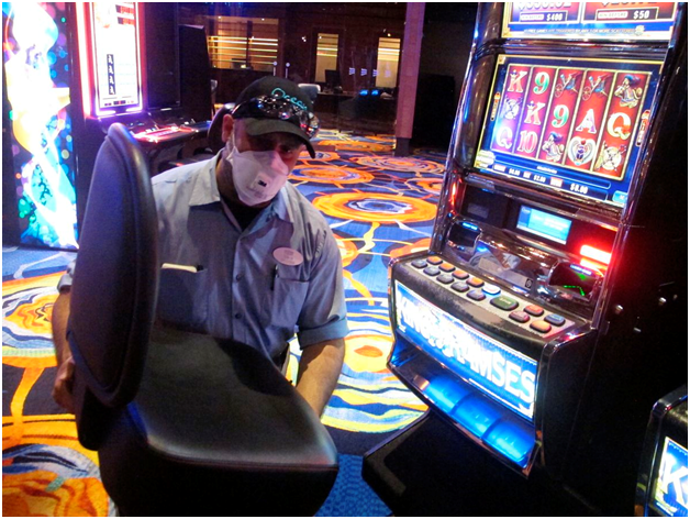 How to maintain your slot machines