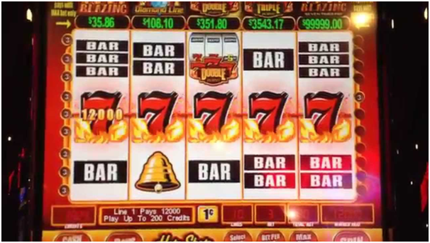 Hybrid slot machine
