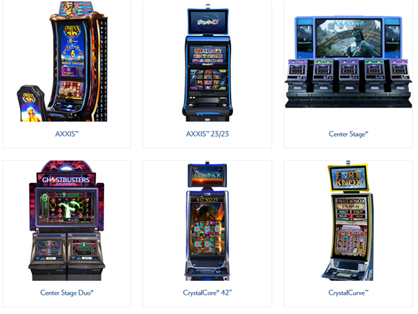 IGT Gaming Machines