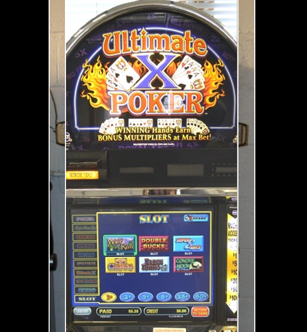 Super slot poker multi game slot machine for sale