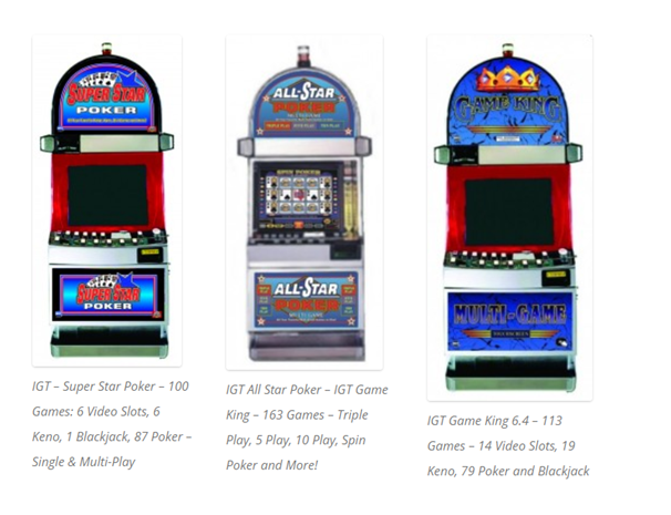 IGT Multigame slot machines for sale