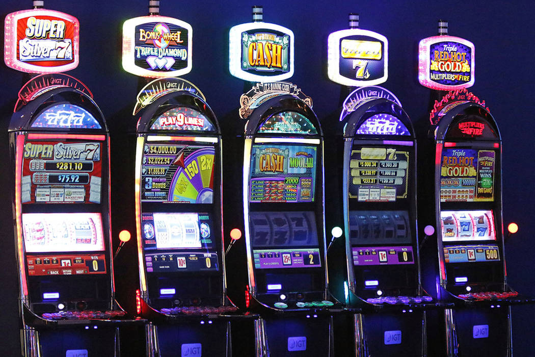 IGT Slot machines at casinos
