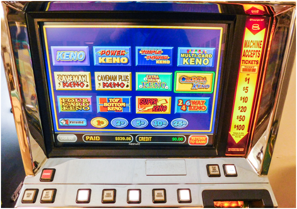 Keno and poker Spielo slot machines for sale