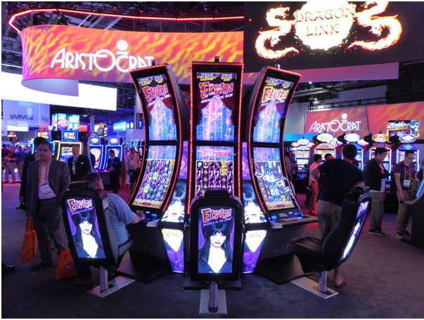 Where to buy Aristocrat slot machines in USA