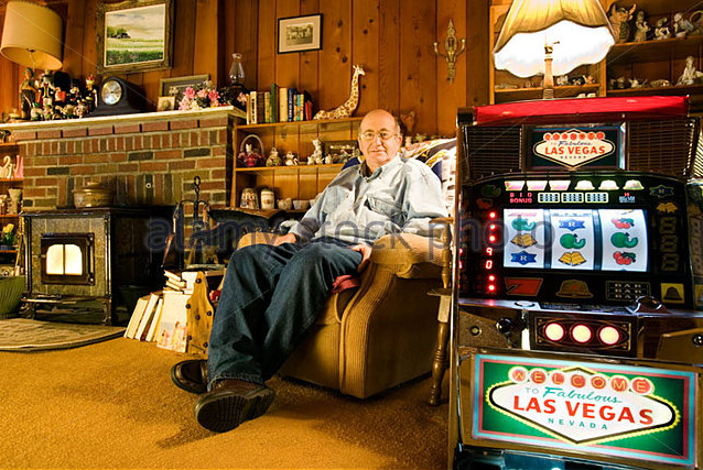 Slot machine at home