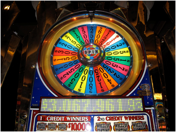 Wheel of Fortune Slot Machine Design
