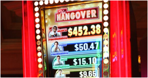 hangover slot machine