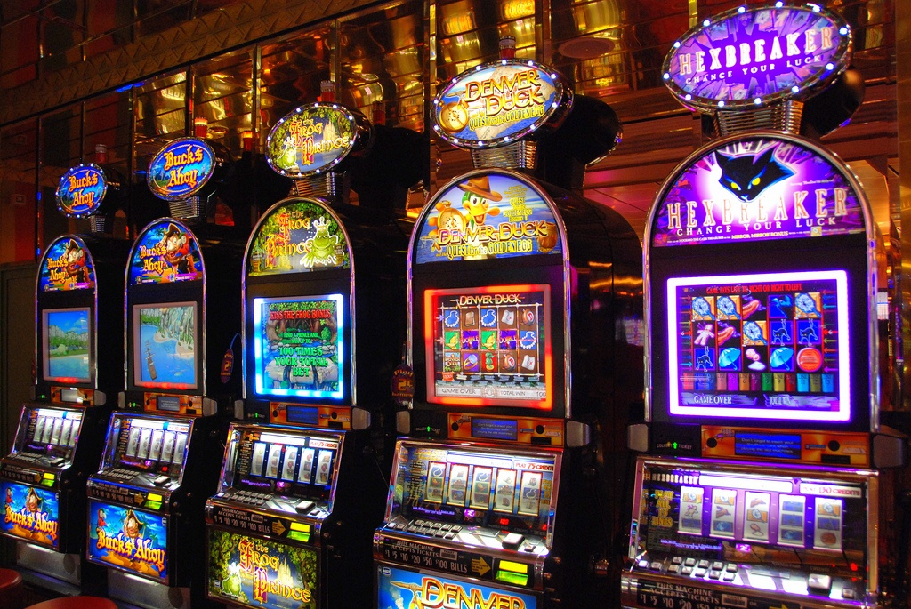 Luxury slot machines
